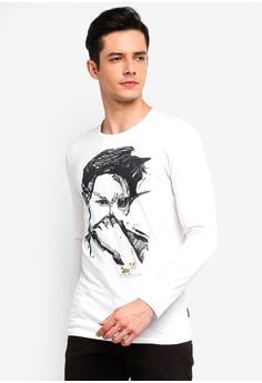 Sisley white Printed T-shirt 85EF7AA21902A1GS 1 6e7513019