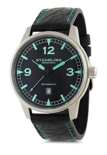 Stuhrling Original black Tuskegee Flier Watch ST251AC73FOOMY_1