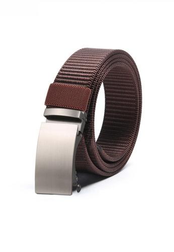 Twenty Eight Shoes brown Casual Street Style Automatic Buckle Belt JW TS-1920 86DB0ACA039A9EGS_1