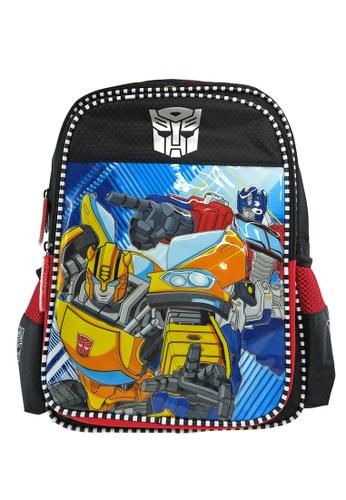 Transformers black and red Transformers TFEG Pre-School Bag E91B7KCF932715GS_1