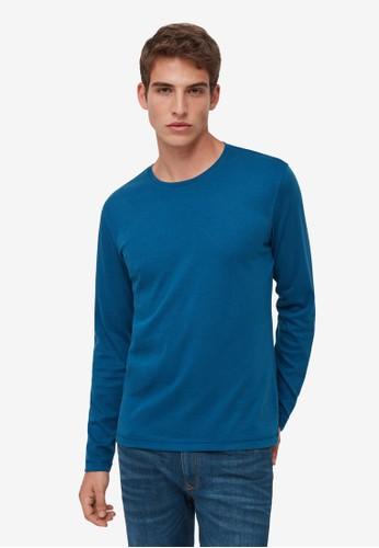 OVS blue Long Sleeves T-Shirt 6C559AA90D04C0GS_1