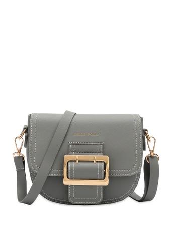 Swiss Polo grey Swiss Polo Ladies Sling Bag 66886AC7272F03GS_1