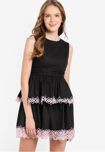 Megane black Juin Dress ME617AA20HFVMY_1