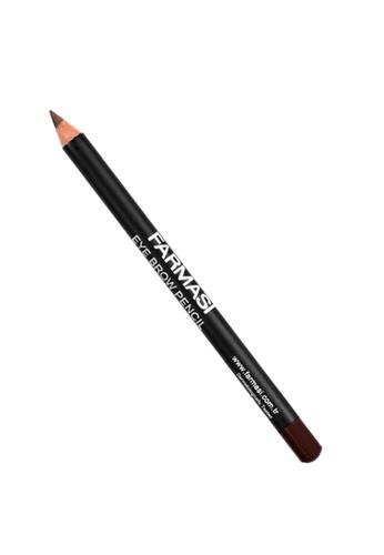 Farmasi Colour Cosmetics brown Eye Brow Pencil FA709BE03RCUMY_1