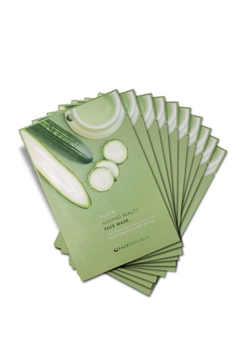 Face Republic Hydrating Cucumber Extract Face Mask 10pcs E79F6BE3F7976AGS_1