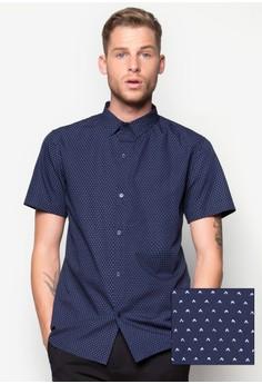 Inverted'V' Icon Short Sleeve Shirt