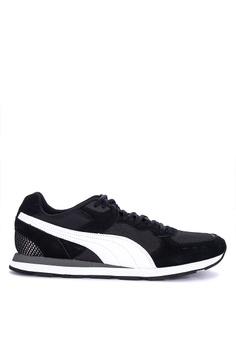 25b1f30783cf0f Puma grey Retro Runner Sneakers 51473SH9E3E42AGS 1