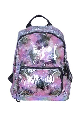 Adkidz multi Adkidz Sparkly Sequin Backpack DD6A4KC3CACC90GS_1