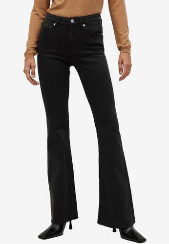 Mango black Flared Leg Jeans AF9F8AA7D0925FGS_1