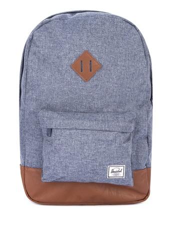 Herschel blue Heritage Backpack 65A06AC4EBD225GS_1