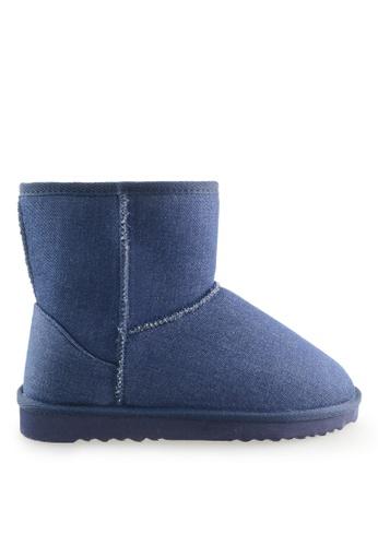 Footspot blue FOOTSPOT - Classic Snow Boots FO296SH2WCB6HK_1