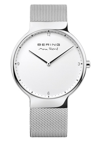 Bering silver Max Rene 15540-004 White 40 mm Men's Watch 8A70FAC2A6350CGS_1