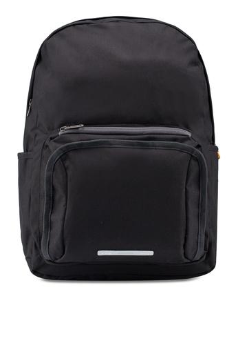 """Rawrow black Square School 450 Cordura 15"""" Backpack 5B5AEAC3EFA22FGS_1"""