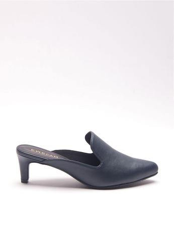 Emelyn blue Justine Slip On Heels 62DDCSHB3D5DA6GS_1