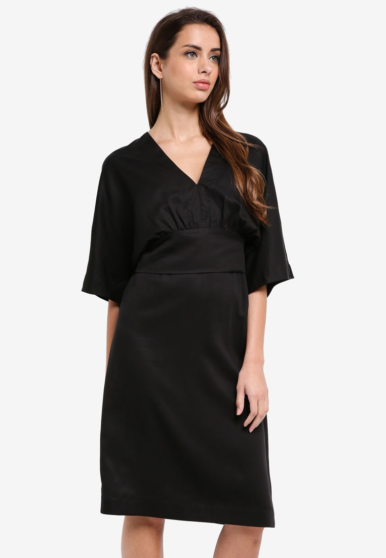 Dress Ada Femme 2 Black in 1 Selected vvpRqt