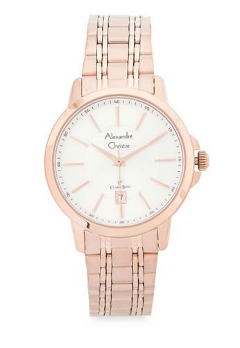 Alexandre Christie gold Alexandre Christie Jam Tangan Wanita - Rosegold Silver - Stainless Steel - 8636 LDBRGSL 32578ACB329E52GS_1