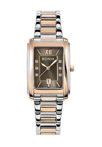 Bonia Watches silver and gold Bonia Elegance Women Watch BNB10643-2643 (Free Gift) 51B76ACD8F3D90GS_1