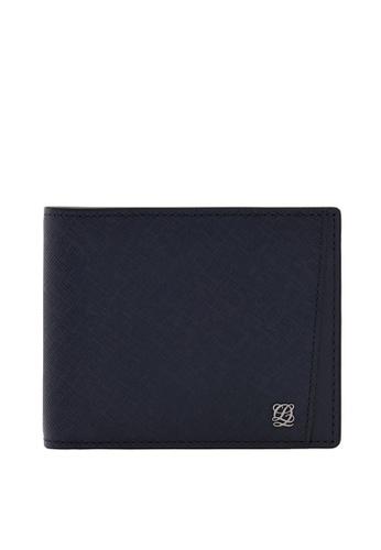 Louis Quatorze grey Men's Leather Wallet LO321AC93BRYSG_1