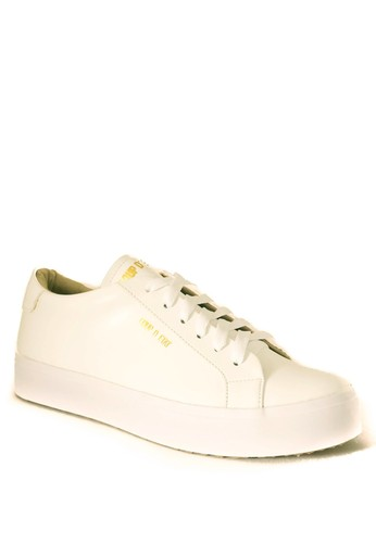 Coup d' etat white CDE Ceremonial Men Sneaker White CO929SH89PZAID_1