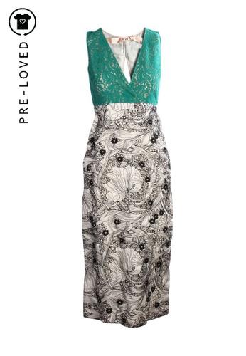 N.21 green Pre-Loved n.21 Lace Maxi Dress 7A77DAAAAD846DGS_1