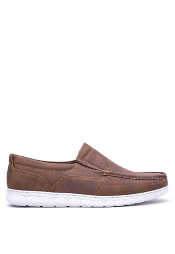 Italianos brown Arthur Loafers IT153SH80OYPPH_1