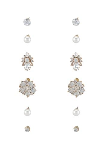 Red's Revenge gold Z21 Assorted Earrings Set RE144AC0SSUGMY_1