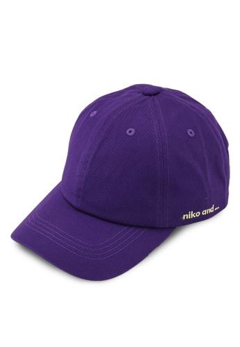 niko and ... purple Casual Cap A3281AC3F3E09DGS_1