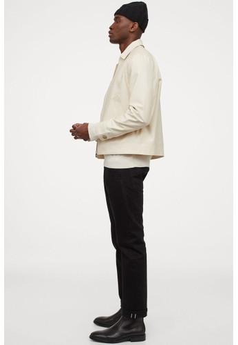H&M white Short jacket 2DE08AAB4096B2GS_1