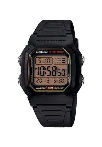 Casio black CASIO WATCH W-800HG-9AVDF FC8D5AC5C88F7BGS_1