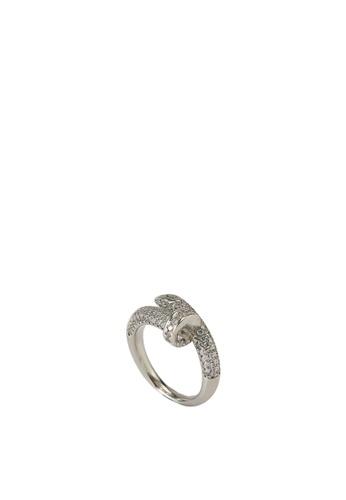 ALDO silver Nalpas Ring 06D13ACFA56A5CGS_1