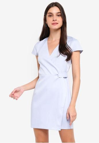 3edcc26c796b Buy ZALORA Twist Detail Semi Formal Dress Online on ZALORA Singapore