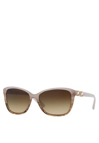 Pop Chic 閃飾太陽眼鏡, esprit台灣官網飾品配件, 長框