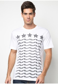 Bench Men's Stars and Waves Tee