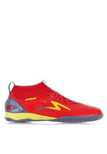 SPECS red ACCELERATOR INFINITY IN - EMPEROR RED/DARK GRANITE/FRESH YELLOW 5DC2DSHA0854D6GS_1