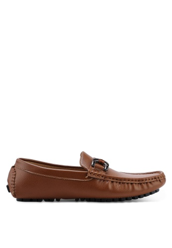 High Cultured brown Casual Loafers-337 7B29ASH994B8D9GS_1
