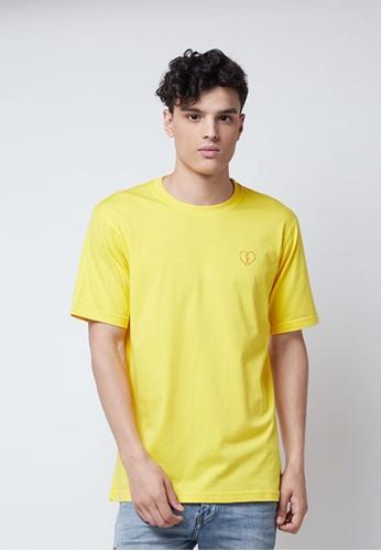 BAE ID yellow Bae T-shirt F Fake Friends Yellow 143C1AA0C2008FGS_1