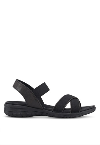 6867d7e3bc1 Bata black Strappy Sandals 53ED7SH162791FGS 1