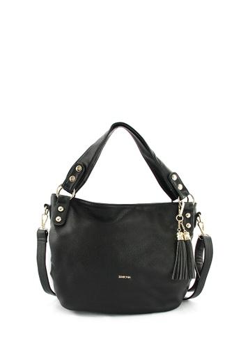 SEMBONIA black SEMBONIA Synthetic Leather Tote Bag A4B7AACDF15D8FGS_1
