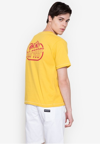 Artwork yellow Too Cheesy T-Shirt BC8EBAA1E73A7FGS_1