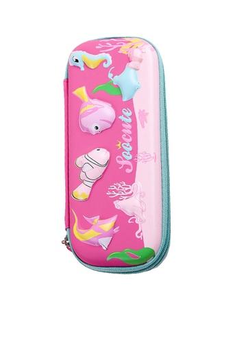Twenty Eight Shoes pink VANSA 3D Cartoon Pencil Case  VAK-A99887 8C39EKCAAE6939GS_1