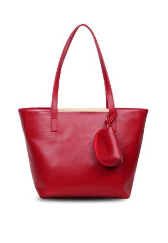 Quincy Label red Jones Tote Bag - Merah DC635AC3629842GS_1