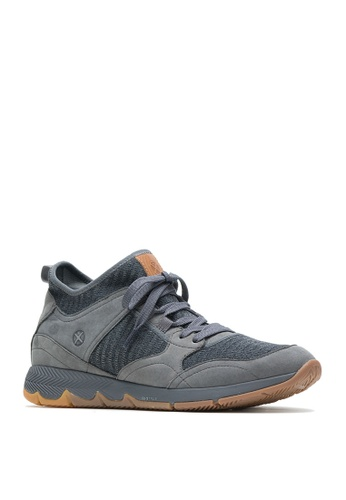 Hush Puppies grey TS  Field Mid Lace-up Sneakers 4C07BSHEC43311GS_1