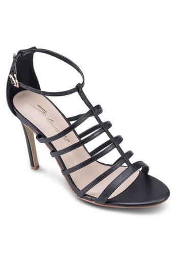簡約羅馬高跟涼鞋zalora 評價, 女鞋, 鞋