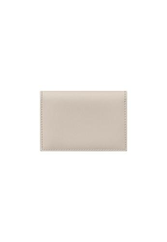 Knocks beige Bifold Namecard Holder Cream 616D8ACD318ECFGS_1