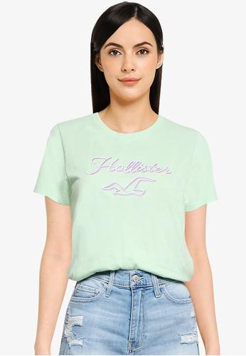 Hollister green Tech Core T-Shirt F5156AA0016158GS_1