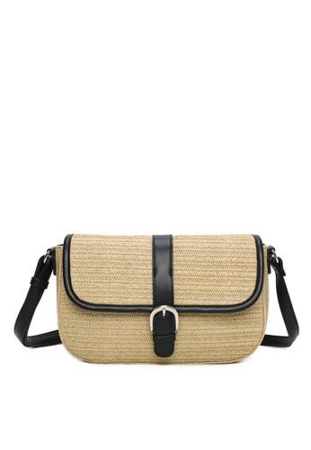 Milliot & Co. black Tess Sling Bag 20424ACDCC5838GS_1