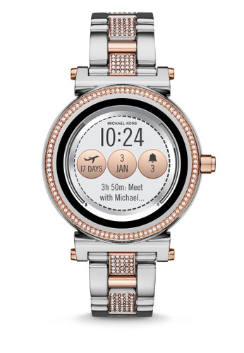 6f69357ce2b4 Buy MICHAEL KORS Michael Kors Sofie Smart Watch MKT5040 Online on ZALORA  Singapore