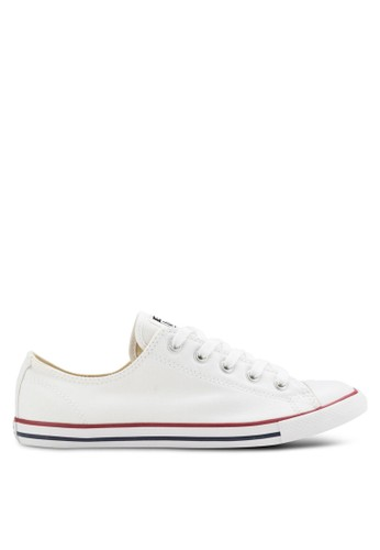 Converse white Chuck Taylor All Star Canvas Ox Women s Sneakers  CO302SH11GSUMY 1 68df3d5142