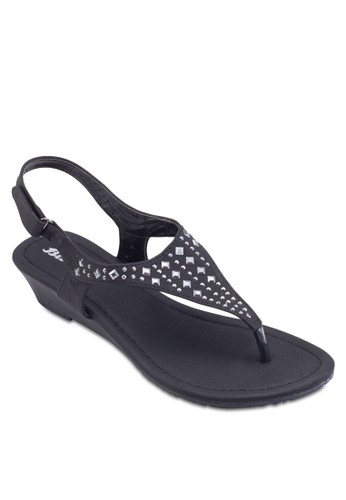 鉚釘繞踝esprit 台灣涼鞋, 女鞋, 鞋