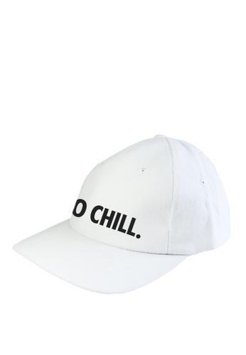 HYPE MNL white Zero Chill  Baseball Cap D96F6AC12B7872GS_1